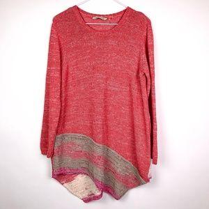 Soft Surroundings Cotton Knit Sweater Size XL
